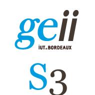 Logo pour le 3ieme semestre au département GEII