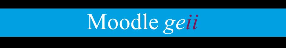 Moodle GEII